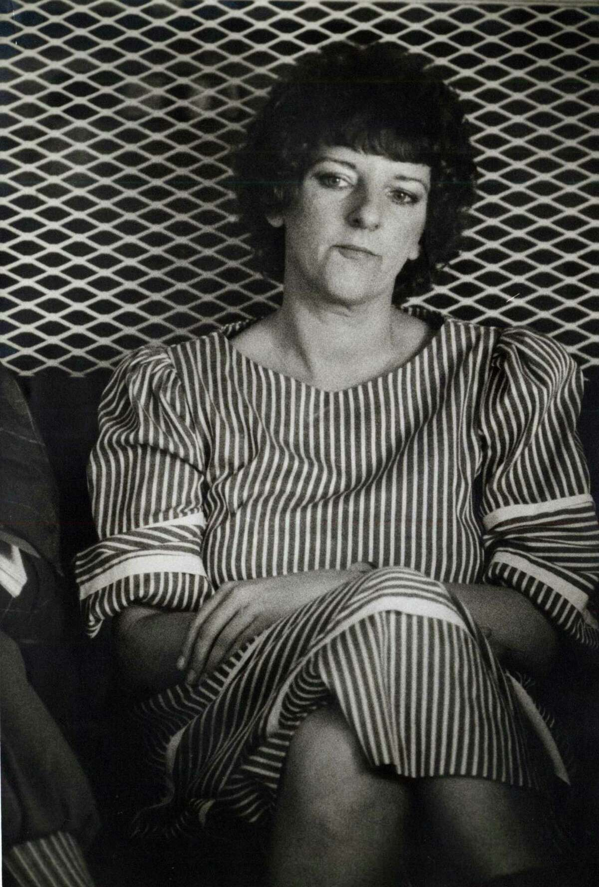 Genene Jones, a former nurse at hospitals in San Antonio and Kerrville who is shown in this 1984 photo, is serving a 99-year sentence for killing Chelsea McClellan, who was 15 months old when she was given a fatal overdose of muscle relaxers in 1982.