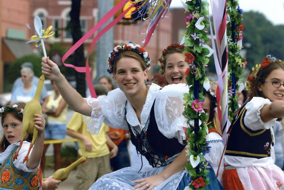 National Polka Festival  May 26-28Ennis marks 51 years of Czech heritage with a weekend full of festivities in a small town, family atmosphere. In addition to the crowning of the polka king and queen, and a massive parade, the event features 14 live polka bands. Tickets are $9-$13, with a three-day for $29. http://www.nationalpolkafestival.com/ Photo: Svatava Strnad/National Polka Festival