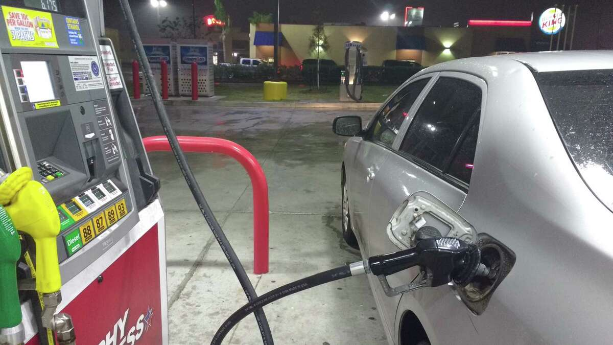 A fill-up at the Murphy station south of downtown Houston on Wayside.