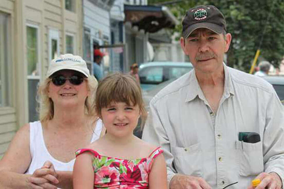 Chris Aernecke, right, is pictured with wife, Linda, and granddaughter, Brooke Naylor. Chris Aernecke died after the Mohawk Ambulance transporting him crashed into trees along Route 20 on Wednesday evening, May 24, 2017, in Duanesburg, N.Y. (Courtesy Linda Aernecke)