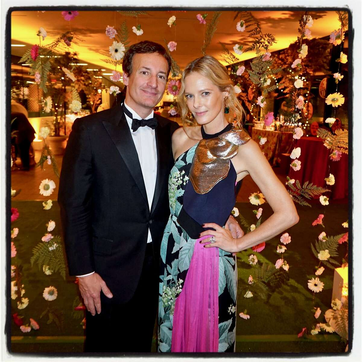 Todd and Katie Traina at the de Young for the Spring Gala. May 20, 2017.