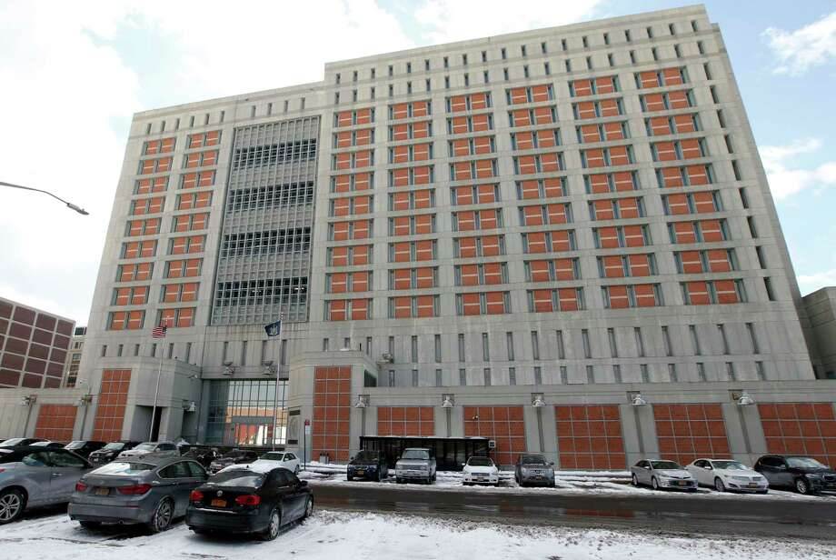 FILE- A Jan 8, 2017 file photo from the Metropolitan Detention Center in the Brooklyn. Reports are that the inmates have been without heat for at least a week. (AP Photo/Kathy Willens, File) ORG XMIT: NYR101 Photo: Kathy Willens / Copyright 2017 The Associated Press. All rights reserved.