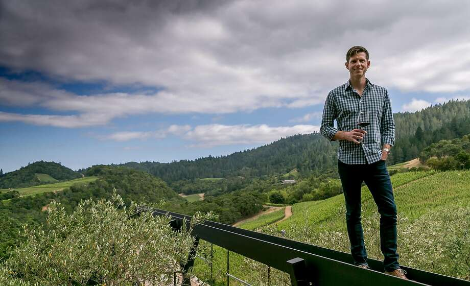 Will Harlan, Bill's son, at Promontory winery in Napa. Photo: John Storey, Special To The Chronicle