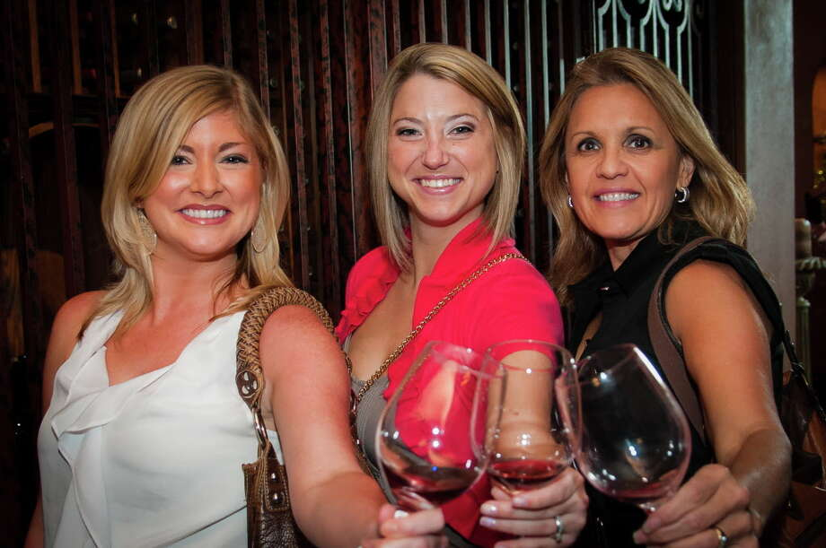 "There are two wine events just for ladies during the June 5-11 Wine & Food Week in The Woodlands. These ladies are pictured at a previous Ladies of the Vine. There's also ""Wine, Women and Fashion"" at the The Woodlands Country Club. Photo: Steven David, Owner/Photographer / Houston Event Photos"