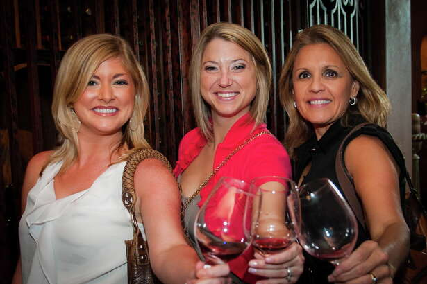 "There are two wine events just for ladies during the June 5-11 Wine & Food Week in The Woodlands. These ladies are pictured at a previous Ladies of the Vine. There's also ""Wine, Women and Fashion"" at the The Woodlands Country Club."