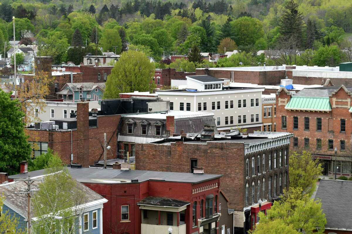 View of Hoosick Falls on Wednesday, May, 10, 2017, in Hoosick Falls, N.Y. (Will Waldron/Times Union)