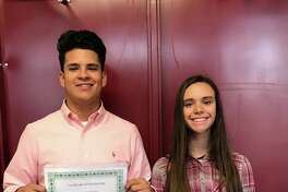 "Plainview High School graduating seniors Victor ""Angel"" Cardiel and Breanna Roden are the 2017 recipients of the Highland Elementary ""Jacob Chapa"" PTA scholarship. The scholarship, in the amount of $500, is given to former Highland students."