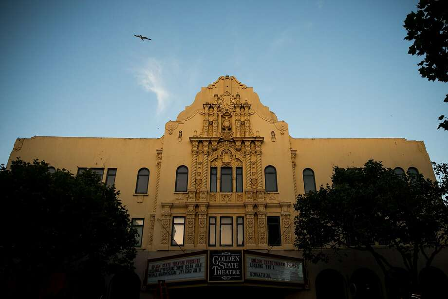 Selfieville will open inside the Golden State Theatre, seen along the Monterey's Historical Path in Monterey, Calif. Thursday, May 18, 2017. Photo: Mason Trinca, Special To The Chronicle