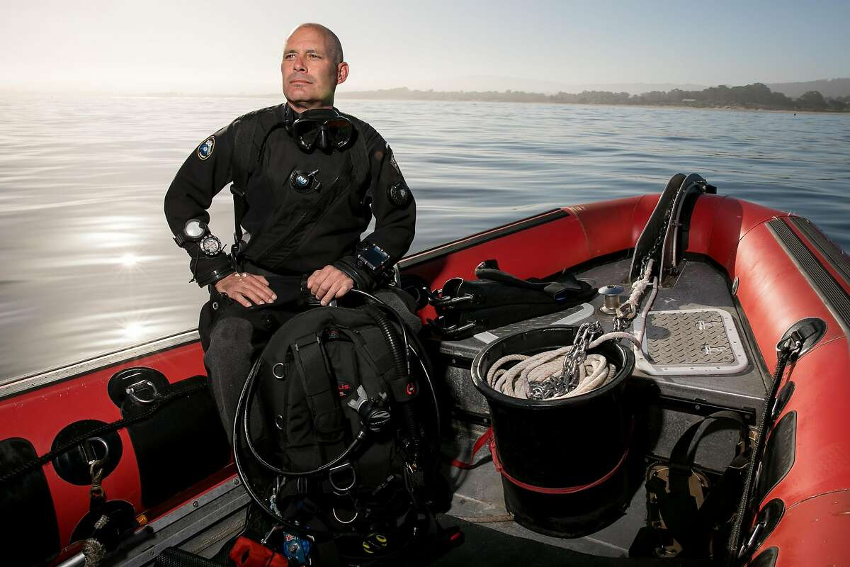 George Z. Peterson photographed on the Dave Todd's Monterey Blue Diving boat in Monterey, Calif. Thursday, May 18, 2017.