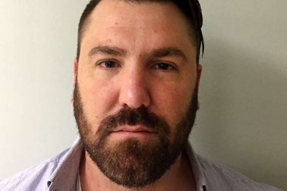 Stephen Rilling, 40, a 19-year veteran of the Fairfield, Conn. police force and the son of Norwalk's mayor, Harry Rilling, was charged Friday, May 26, 2017, with stealing heroin and other drugs seized during police operations.