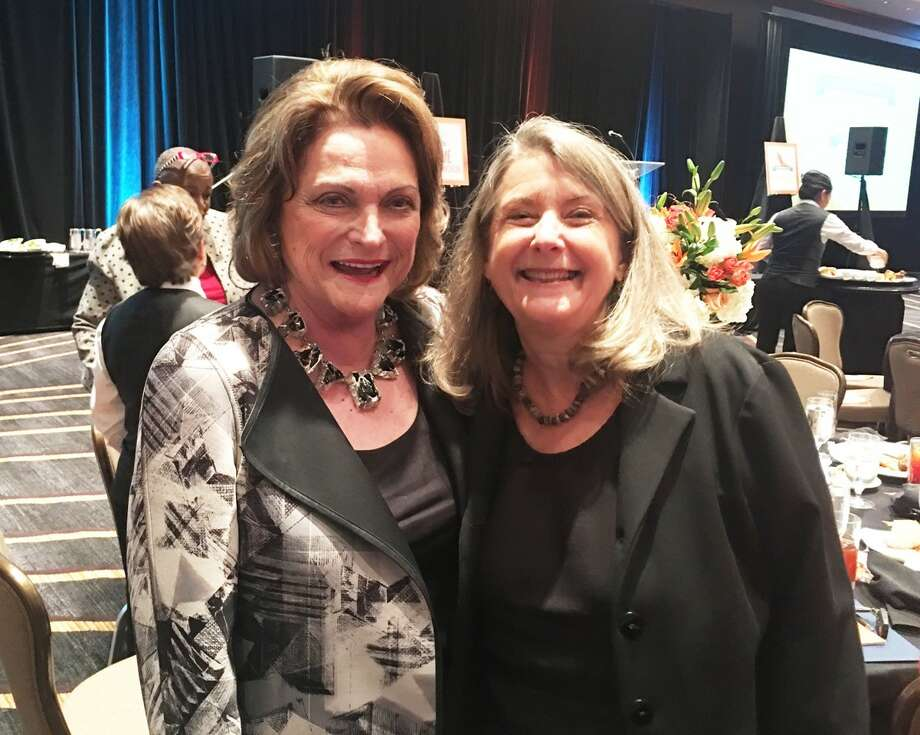 Beth Wolff of Beth Wolff Realtors Real Living caught up with former Houston Mayor Kathy Whitmire at the recent YMCA Outstanding Women's Legacy Luncheon.