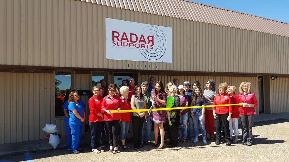 "The Plainview Chamber of Commerce Ambassadors hosted a ribbon cutting Wednesday for Radar Supports, 2807 W. Seventh. Owners are Hope Hastey (center left), Ahnalisia Lopez and Lisa Gore. The name ""Radar"" stands for Remediation (dyslexia supports, reading/language arts tutoring), Assessment (autism, ADHD/ADD, aphasia, speech and language, feeding, cognitive, achievement, irlen screen), Development (kindergarten readiness, early childhood), Advocacy (special education supports 504 supports), and Rehabilitation (speech and language therapy, feeding and swallow therapy, memory, functional living skills). Hours are 9 a.m. to 5 p.m. Monday through Friday or by appointment. Learn more at radarsupports.com or by calling 1-888-679-1221."