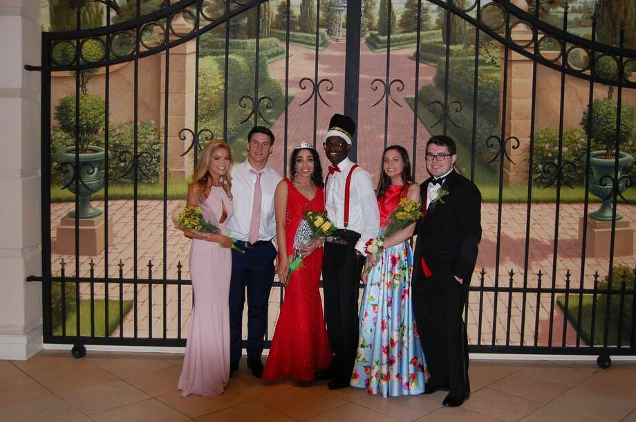 Stamford's Trinity Catholic High School held its prom on May 25, 2017. The senior class graduates on June 3. Were you SEEN at the prom? Photo: Trinity Catholic High School