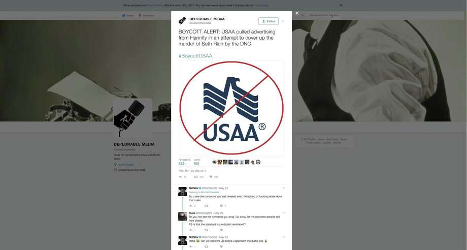 USAA: We won't advertise with opinion-based shows