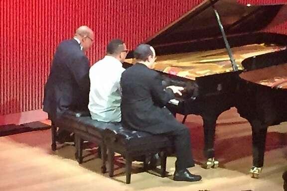 Chucho Valdes, Gonzalo Rubalcaba and Michel Camilo at SFJAZZ
