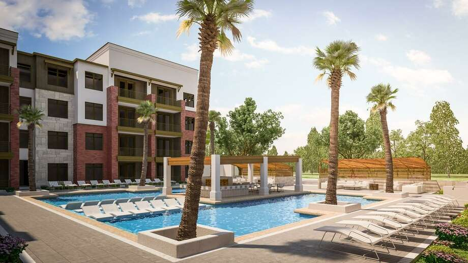 Austin development firm Oden Hughes bought 23 acres just north of the shopping center last week, next to NuStar's corporate headquarters, where it plans to build the 308-unit Amara Apartments. Photo: Courtesy Of Oden Hughes