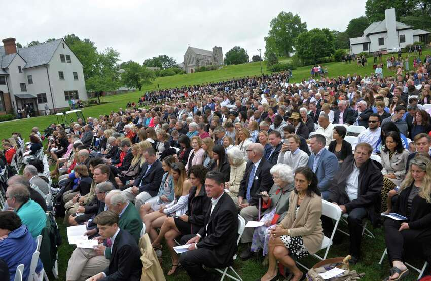 The One Hundredth Graduation Exercises of Canterbury School, in New Milford, Conn, May 26, 2017.