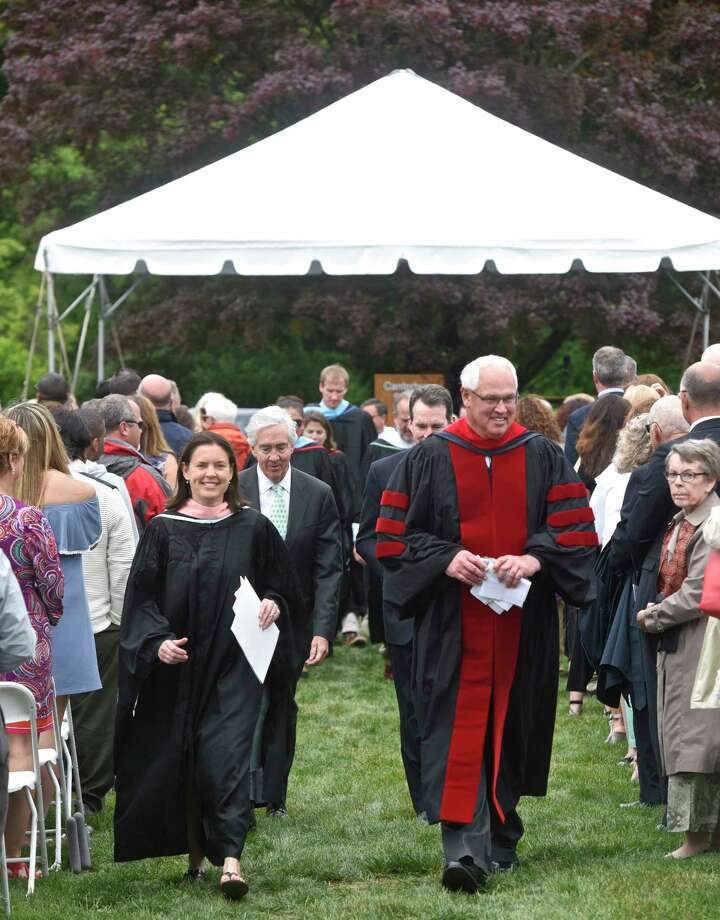 The One Hundredth Graduation Exercises of Canterbury School, in New Milford, Conn, May 26, 2017. Photo: H John Voorhees III, Hearst Connecticut Media / The News-Times