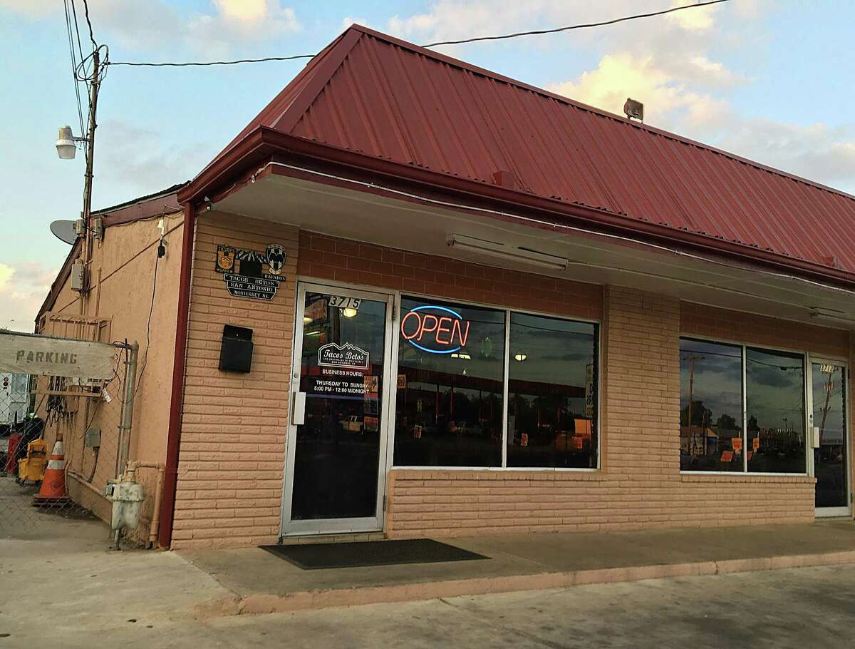 Tacos Beto's on Culebra Road is open from 5 p.m. to midnight Thurday through Sunday.