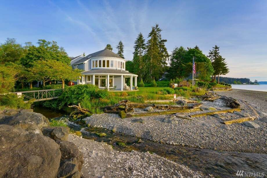 The home at 28657 Shorebrook Drive N.W. is listed for $1.6 million. It has four bedrooms, three bathrooms and spans more than 3,500 square feet. You can see the full listing here. Photo: Photos By Landon Acohido/listing Courtesy Joni Kimmel, Windermere RE West Sound Inc.