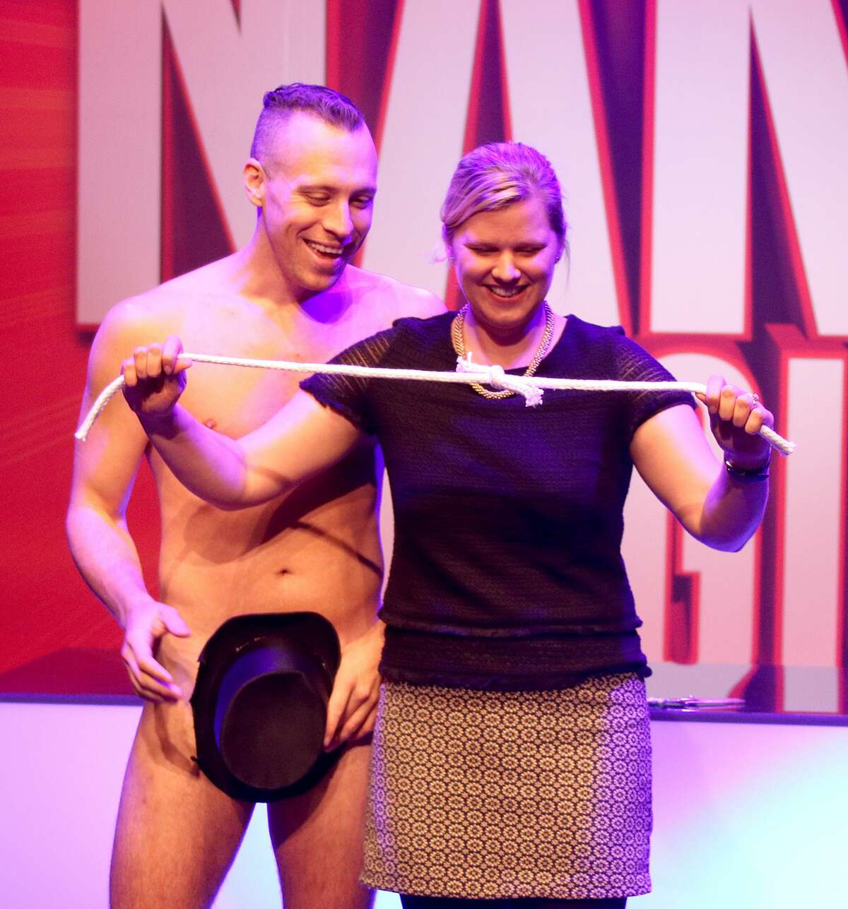 Naked Magicians shows postponed due to injury