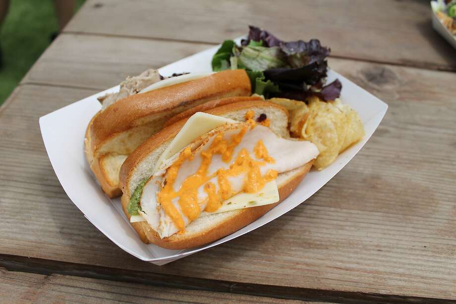 Sonoma Coma Sandwich Company: Sac Town and Oak Town ($17 for two sandwich rolls) Photo: Esther Mobley