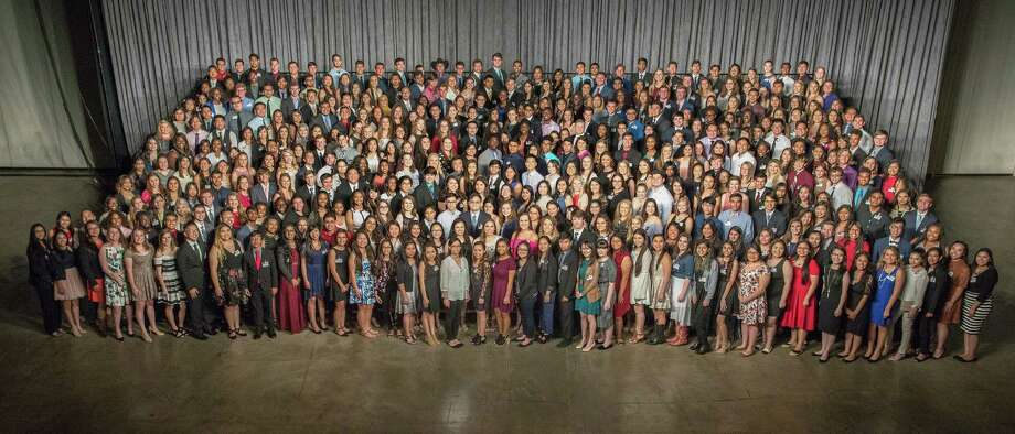 On Wednesday, May 24, theHouston Livestock Show and Rodeo gave out hundreds of scholarships to students across the region. Photo: Houston LivestockShowandRodeo