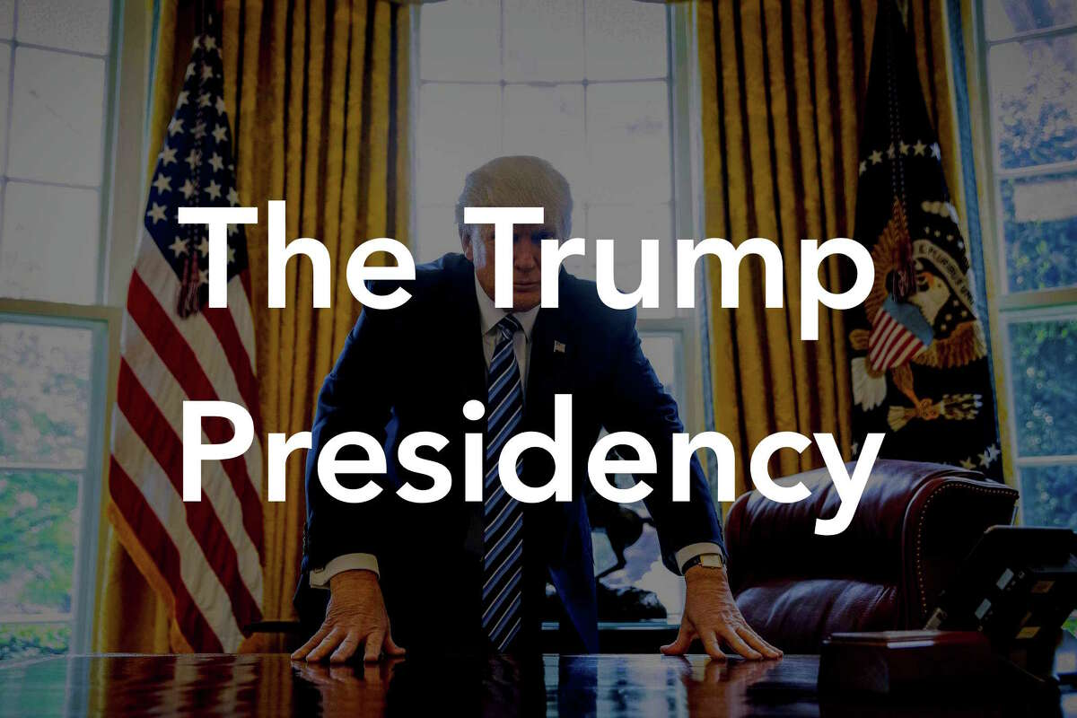Click through the slideshow to see the major developments from President Trump's first term in office.