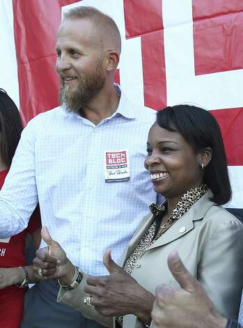 9. In 2015, San Antonio Mayor Ivy Taylor looked to Parscale's company Tech Bloc for guidance in bringing ride-hailing companies, such as Uber and Lyft, back to the city.