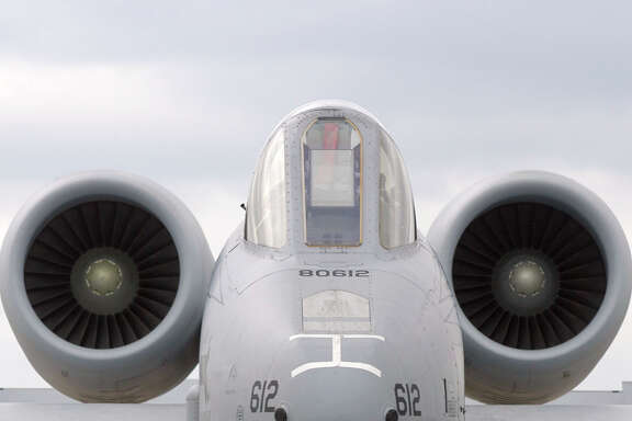 The Warthog, aka A-10, has been out of production since 1984.