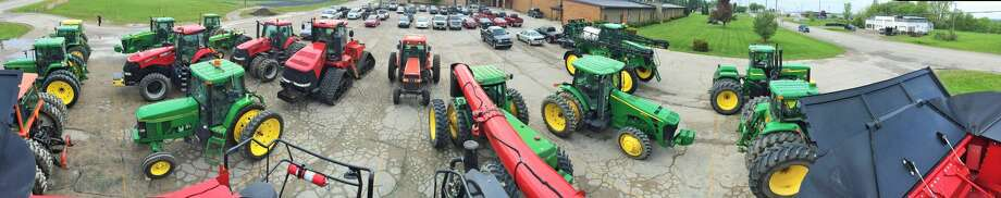"North Huron High School held its annual ""Drive Your Tractor to School"" event this week. Photo: Frank Szymanski"