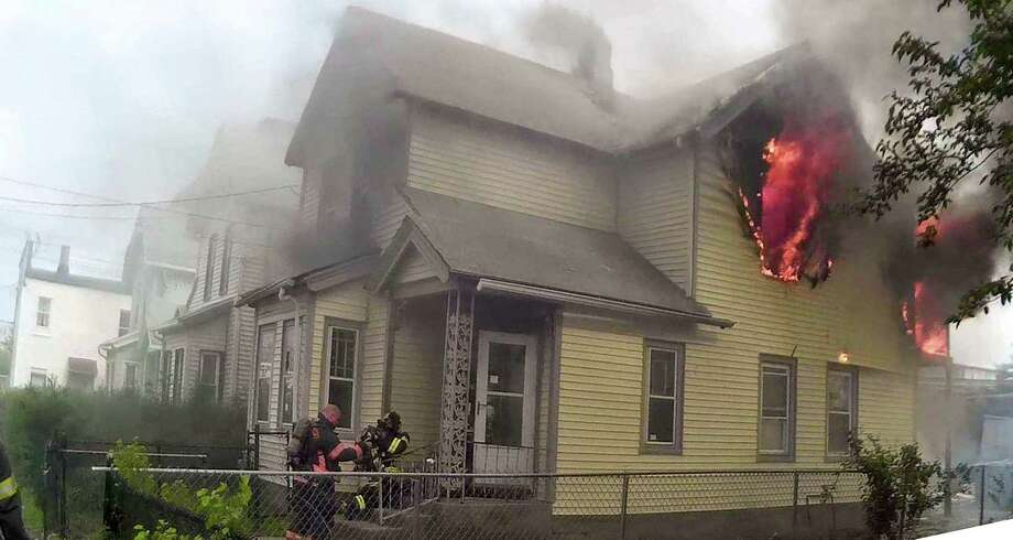 On Wednesday, May 24, 2017, the Bridgeport Fire Department responded to a fire on Maple Street in Bridgeport, Conn. Firefighters were able to extinguish the fire within 20 minutes. Photo: Contributed Photo / Contributed Photo / Connecticut Post Contributed