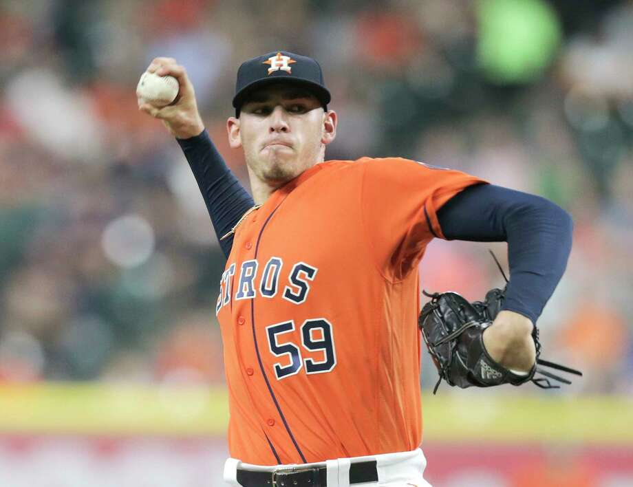 Joe Musgrove turned in a command performance Friday for the Astros against the Orioles at Minute Maid Park. Photo: Elizabeth Conley, Staff / © 2017 Houston Chronicle