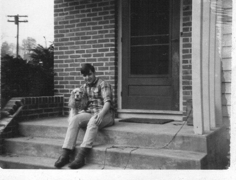 The author in Danbury when he turned 16. Photo: /Contributed Photo