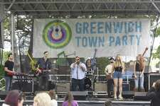 Mongolian Monkfish performs at the 2017 Greenwich Town Party at Roger Sherman Baldwin Park in Greenwich, Conn. Saturday, May 27, 2017. The 2017 Town Party was headlined by classic jazz fusion group Steely Dan and American blues rock band Alabama Shakes. Several local bands also performed, with many activities for children and families and local food stands.