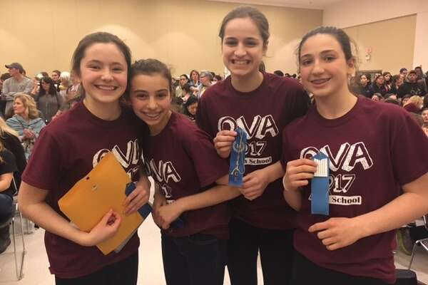 Schenectady- -- Brown School, an independent nursery through grade nine school, recently achieved a significant honor in the arts as their student teams won first place awards in both photography and sculpture (middle school category) at the Olympics of the Visual Arts (OVA).