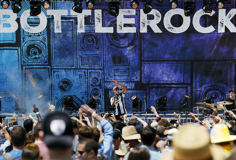 Pell, shown at BottleRock 2017, left New Orleans as a Hurricane Katrina refugee, and encourages others displaced by disasters. Photo: Santiago Mejia, The Chronicle
