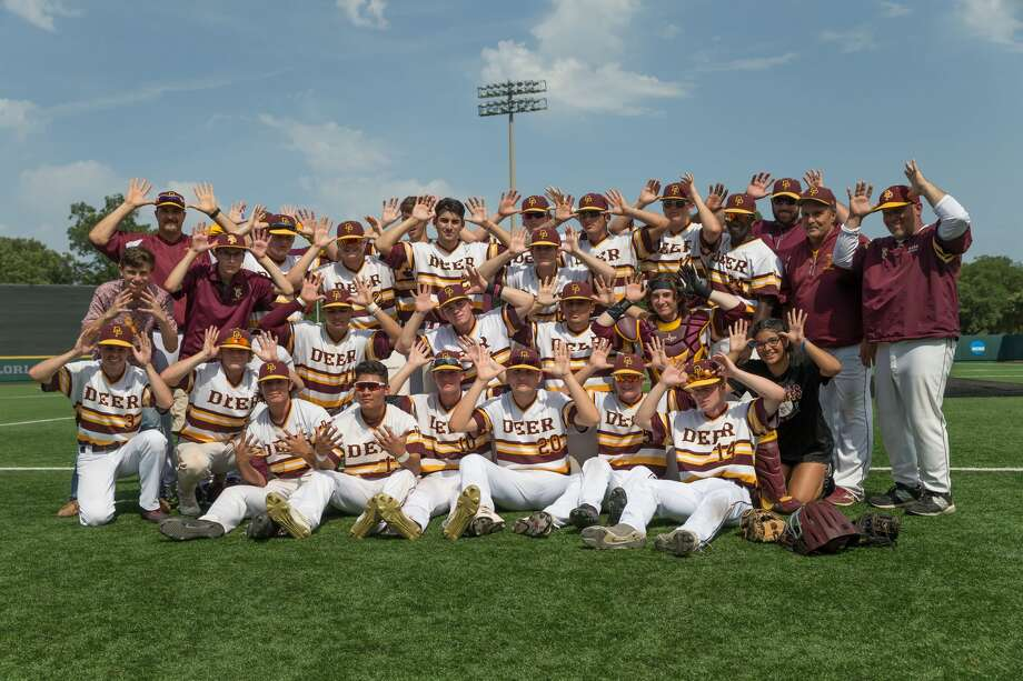 May 27, 2017:  Deer Park team celebrates after winning Game 3 of the 6A Region 3 semifinals game between Deer Park and Ridge Point at the Darryl & Lori Schroeder Park in Houston, Texas. (Leslie Plaza Johnson/Freelance Photo: Leslie Plaza Johnson/For The Chronicle
