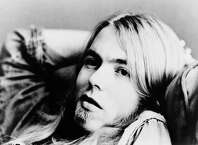 UNSPECIFIED - JANUARY 01:  Photo of ALLMAN BROTHERS and Greg ALLMAN; Posed portrait of Greg Allman  (Photo by Gems/Redferns)