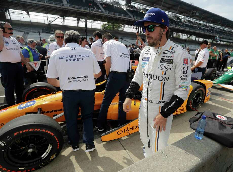 Fernando Alonso, a two-time Formula One champion from Spain, is an IndyCar rookie in name only and will be trying to make a successful leap from road racing to oval racing in Sunday's Indianapolis 500. Photo: Darron Cummings, STF / Copyright 2017 The Associated Press. All rights reserved.