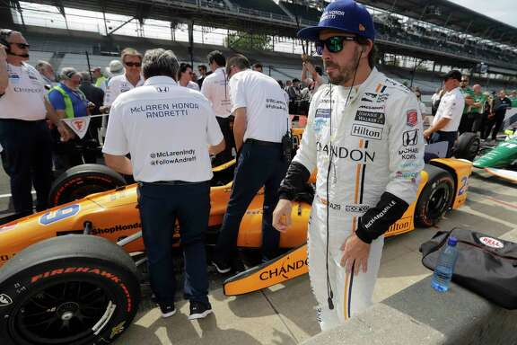 Fernando Alonso, a two-time Formula One champion from Spain, is an IndyCar rookie in name only and will be trying to make a successful leap from road racing to oval racing in Sunday's Indianapolis 500.