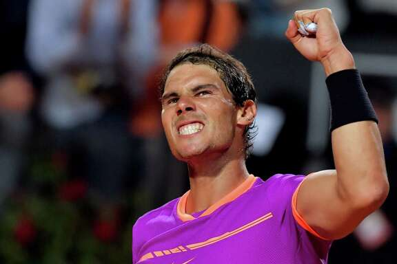 Despite losing in the Italian Open quarterfinals, Rafael Nadal is on a roll entering the French Open, having won titles on clay at Monte Carlo, Barcelona and Madrid.