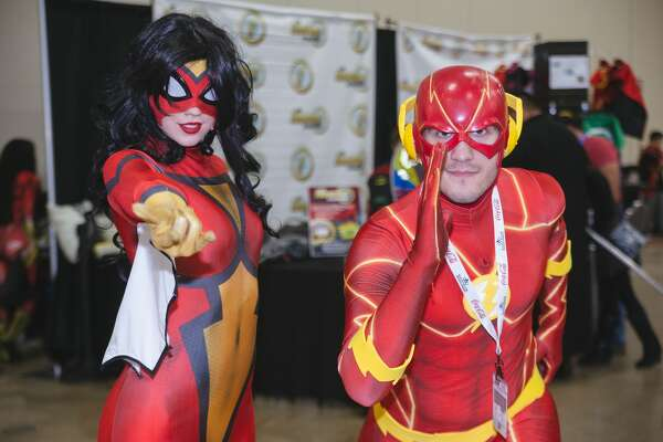 Fans came by the thousands to the Convention Center Saturday, May 27, 2017, for the Alamo City Comic Convention.