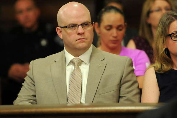 "District Attorney Joel Abelove listens to closing arguments from attorneys in the trial of Gabriel ""Gabe"" Vega who was accused of killing his former girlfriend Vanessa Milligan at the Rensselaer County Court House on Thursday, May 26, 2016 in Troy, N.Y. (Lori Van Buren / Times Union)"