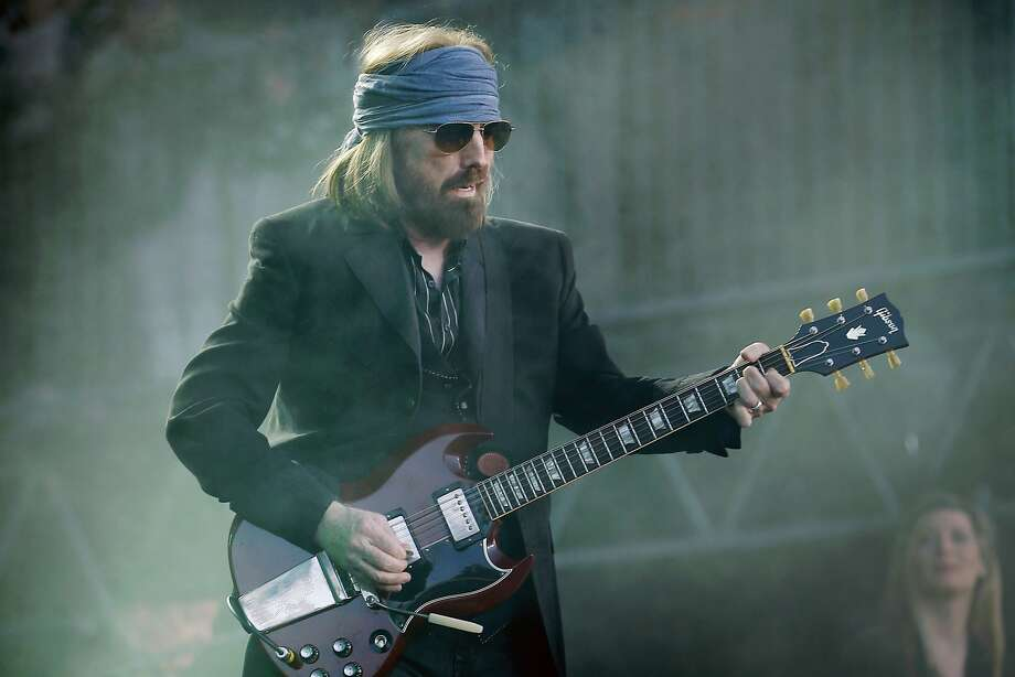 Tom Petty and The Heartbreakers perform at BottleRock on Saturday, May 27, 2017, in Napa, Calif. Photo: Santiago Mejia, The Chronicle