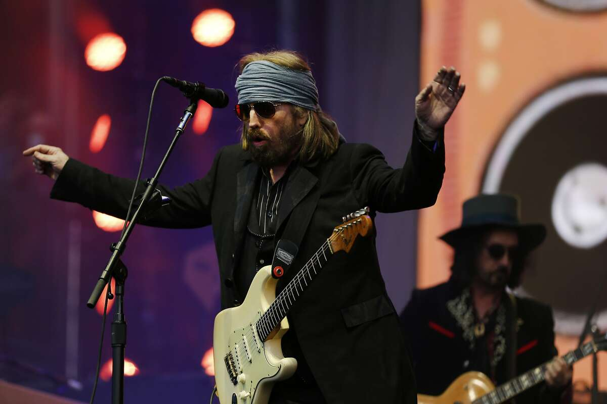 Tom Petty and The Heartbreakers perform at BottleRock on Saturday, May 27, 2017, in Napa, Calif.
