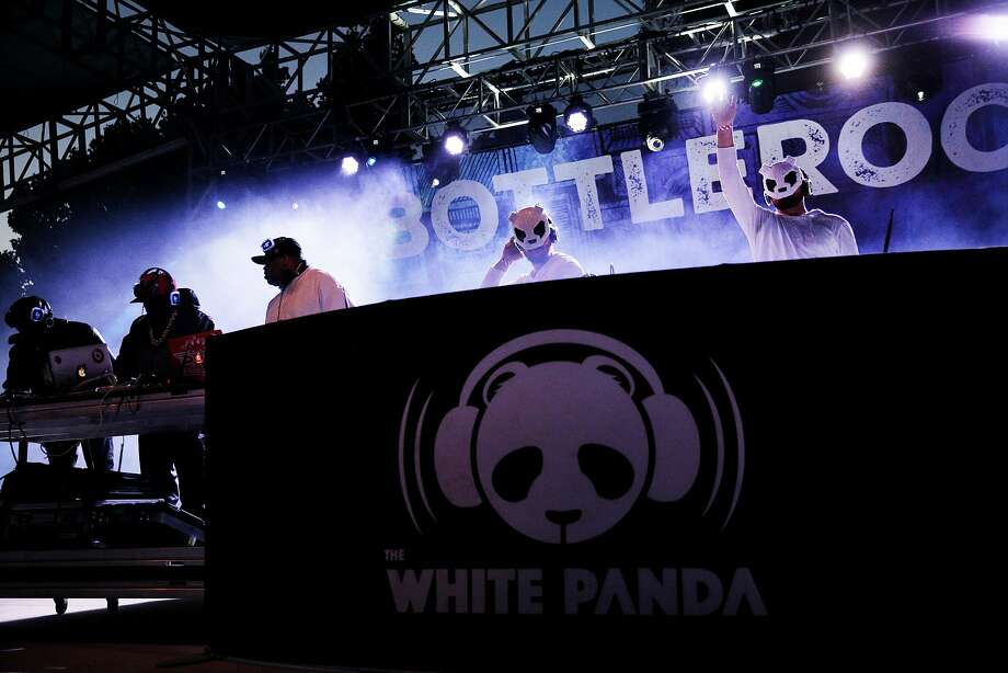 Big Boi and The White Panda silent disco at BottleRock on Saturday, May 27, 2017, in Napa, Calif. Photo: Santiago Mejia, The Chronicle