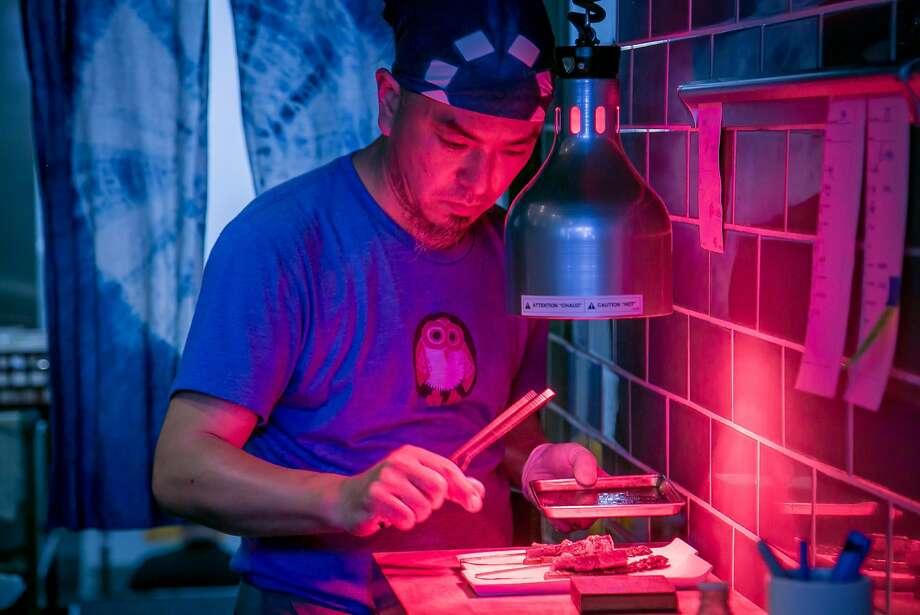 Chef Noriyuki Sugie of Hitachino in San Francisco. Photo: John Storey, Special To The Chronicle
