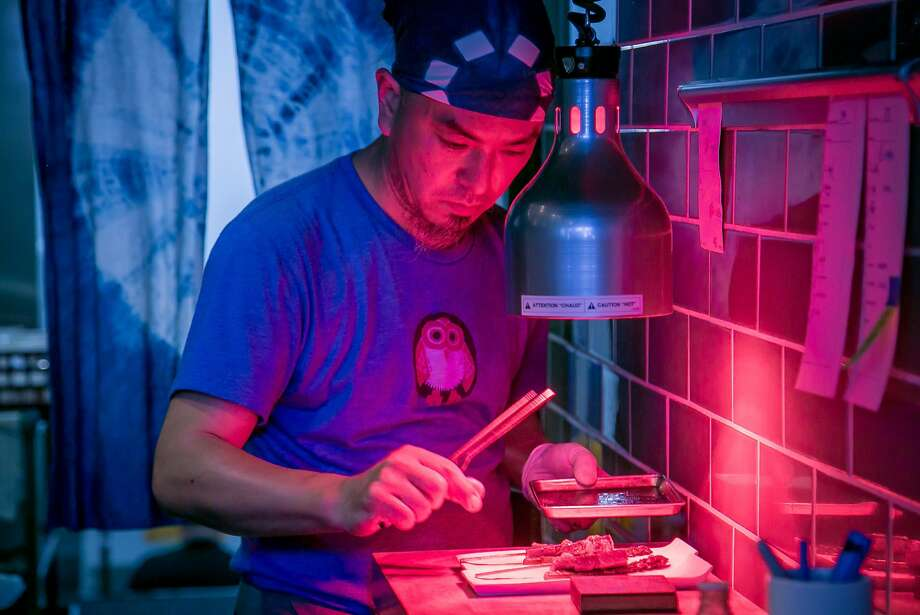 Chef  Noriyuki Sugie of Hitachino in San Francisco, Calif., is seen on May 27th, 2017. Photo: John Storey, Special To The Chronicle