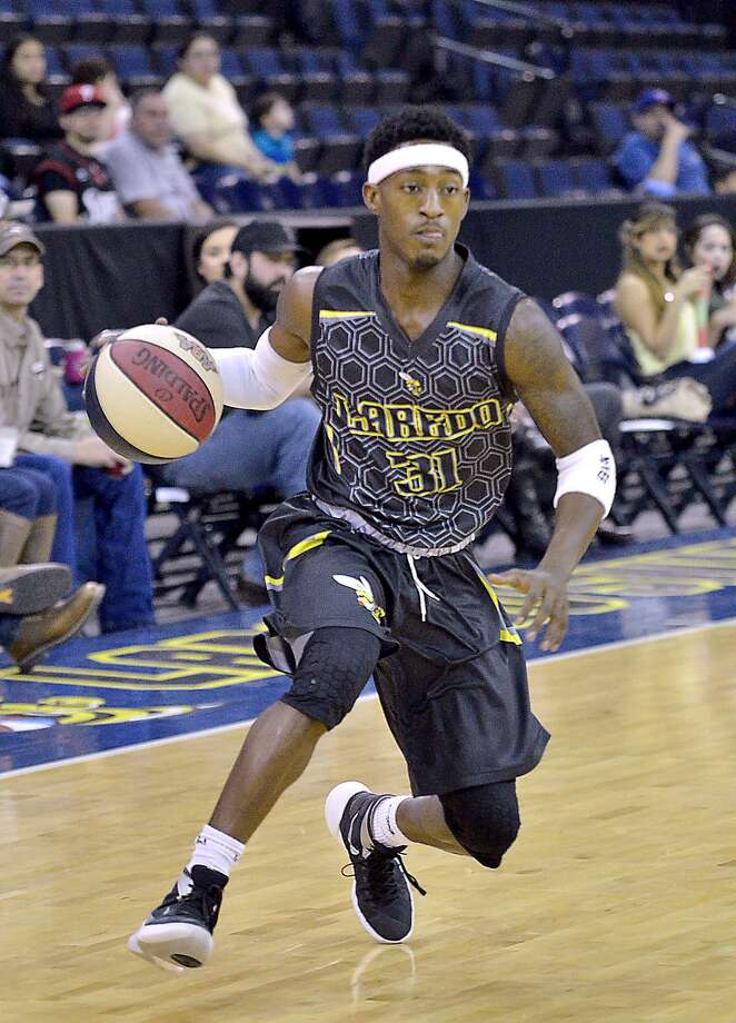 The Swarm have until the end of June to find a new owner or investor to run the team's day-to-day operations after Laredo co-owner Marlon Minifee took a position with the American Basketball Association. Anthony Alston, pictured, and the Swarm finished as the No. 22-ranked team in the country last year. Photo: Cuate Santos /Laredo Morning Times File / Laredo Morning Times